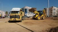 Milas'ta Üçyol Kavşağı'nda Peyzaj Düzenlemeleri Başladı
