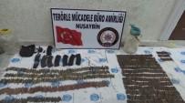 Nusaybin'de Mezarlıkta PKK'ya Ait Mühimmat Ele Geçirildi