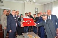 ŞEHİT BABASI - Siyasi Parti İl Başkanları, Şehit Özen'in Ailesini Ziyaret Etti