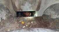 GEBZE BELEDİYESİ - Yer Altı Çöp Konteynerine Düşen Çocuğu İtfaiye Kurtardı