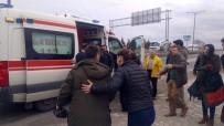 İŞÇİ SERVİSİ - 4 Servis, 2 Otomobil Birbirine Girdi Açıklaması 23 Yaralı