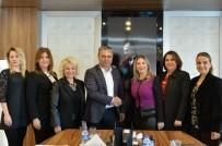 KADINA YÖNELİK ŞİDDETLE MÜCADELE - AGİDER'den Başkan Uysal'a Ziyaret
