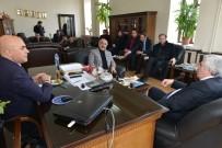 ALİ KORKUT - AK Parti İl Başkanı Öz'den Yakutiye'ye Ziyaret