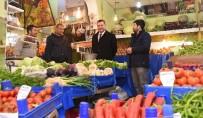 ORTAK AKIL - Başkan Yılmaz, Sebze Satıp Projeleri Anlattı