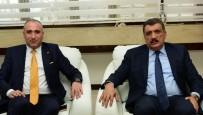 SELAHATTIN GÜRKAN - BİRKONFED Genel Başkanı Ünsal, Başkan Gürkan'ı Ziyaret Etti