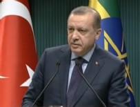 ETIYOPYA - Erdoğan'dan referandum süreciyle ilgili kritik açıklama