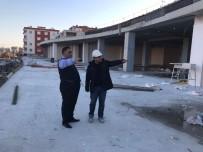 SEMT PAZARI - Ergenekon Yaşam Merkezi İnşaatı Devam Ediyor