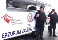 ERZURUM VALISI - Erzurum Valiliğince Vatandaşlara Ücretsiz Çorba Dağıtılıyor