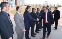 MUSTAFA DOĞAN - Gaziantep Üniversitesi Rektörü Prof. Dr. Ali Gür'den Mevkidaşı Karacoşkun'a Ziyaret