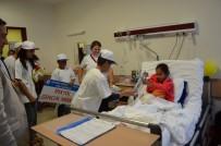 DÜNYA KANSER GÜNÜ - Gençlerden Kanser Hastalarına Moral Ziyareti