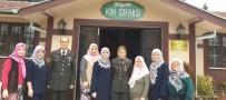 ALI ÇELIK - Jandarmadan Kadın Derneğine Ziyaret