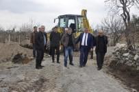 KAPAKLı - Kapaklı'nın Mezarlık Yolu Yenileniyor