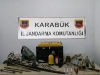 KAÇAK KAZI - Karabük'te Kaçak Kazı İddiası