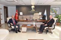 İSMAIL ÇORUMLUOĞLU - Kaymakam Çorumluoğlu'dan MASKİ'ye Ziyaret