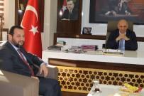 ERTUĞRUL ÇALIŞKAN - KMÜ Rektörü Akgül'den Başkan Çalışkan'a İade-İ Ziyaret