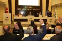 YARDIM TALEBİ - Kocasinan Belediye Meclisi, Gündemindeki 32 Maddeyi Görüşerek Karara Bağladı
