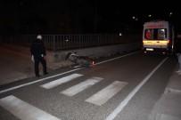 OTOPARK GÖREVLİSİ - Kuşadası'nda Trafik Kazası; 1 Yaralı