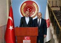 CENGİZ YAVİLİOĞLU - Maliye Bakan Yardımcısı Yavilioğlu'ndan Valilik Ve Üniversiteye Ziyaret