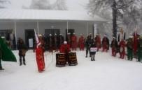 MEHMED ALI SARAOĞLU - Muratdağı Termal Kayak Merkezi'nde Mehter Gösterisi
