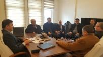 ERCAN YILMAZ - STK Temsilcilerinden Müdür Ayhan'a Ziyaret