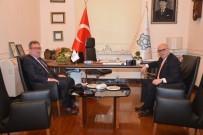 EMNİYET TEŞKİLATI - Süleymanpaşa Belediye Başkanı Ekrem Eşkinat İlçe Emniyet Müdürü Kayrak'ı Ağırladı