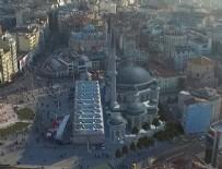 TAKSIM - Taksim'e yapılacak caminin fotoğrafları ortaya çıktı