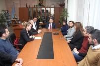 MOLDOVA - TC Moldova Büyükelçisi Hulusi Kılıç, Moldova Amerikan Üniversitesini Ziyaret Etti