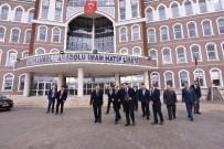ALI ÖZTÜRK - Vali Aktaş, Yeni Hizmete Giren Okulları Gezdi.