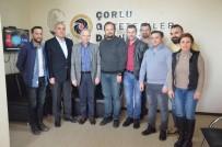 MEHMET CEYLAN - Vali Ceylan'dan Çorlu Gazeteciler Derneği'ne Ziyaret