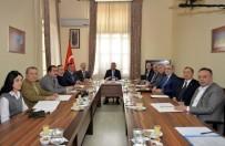MADEN MÜHENDISLERI ODASı - Vali Elban Mesleki Sivil Toplum Kuruluşları Temsilcileri İle Bir Araya Geldi