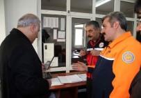 Vali Zorluoğlu, AFAD'da İncelemelerde Bulundu