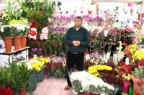 Yozgat'ta Çiçekçiler Sevgililer Gününe Hazır