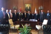 AHMET ÖZEN - Ziraat Odası Başkanları Milletvekilleri İle Tarımı Görüştü