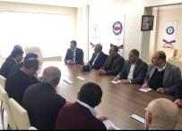 KENDIRLI - AK Parti Teşkilatından Memur-Sen'e Ziyaret