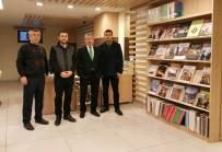 AHMET ÇELIK - Akademisyenlerden Şehir Kütüphanesine Ziyaret