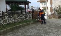 Akçakoca'da Temizlik Çalışmaları Gece Gündüz Sürüyor