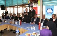 MEHMET TAHMAZOĞLU - Başbakan Yardımcısı Şimşek, Umreden Dönen Öğrencilerle Bir Araya Geldi