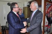 SİYASİ PARTİLER - Başkan Kamil Saraçoğlu, MHP İl Başkanı Türker'i Ziyaret Etti