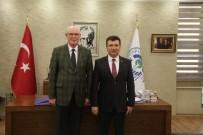 CEMAL ŞAHIN - Başkan Kurt'la Kaymakam Şahin Sanayi Projesini Konuştu