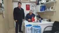 YÜRÜME ENGELLİ - Bozüyük Belediyesi Çalışanlarından Mavi Kapak Kampanyasına Destek