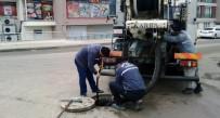 Çankırı'da Yağmur Suyu Kanalları Temizleniyor