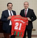 CUMALI ATILLA - Diyarbekirspor'dan Başkan Atilla'ya Ziyaret