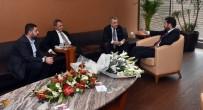 MURAT HAZINEDAR - Fikret Orman'dan Başkan Hazinedar'a Ziyaret
