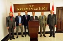 ERTUĞRUL ÇALIŞKAN - Karaman'da Teknopark Çalışmaları Hız Kazandı