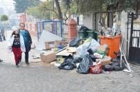 Milas'ın En İşlek Caddesinde Yakışmayan Manzara