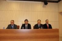 HÜKÜMET KONAĞI - Oltu'da Asayiş Ve Ekonomi Toplantıları Sürüyor