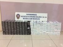 Otomobilden Bin Paket Kaçak Sigara Çıktı