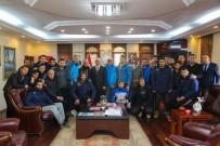 Sapancaspor'dan Başkan Yılmazer'e Ziyaret