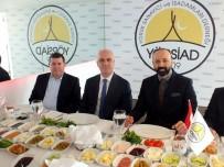 AHMET TEKIN - YÖRSİAD AOSB Başkanı Ali Bahar'ı Konuk Etti