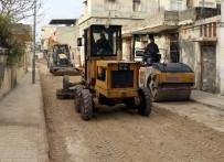 BILGE AKTAŞ - Akdeniz'de Asfalt Çalışmaları Başladı